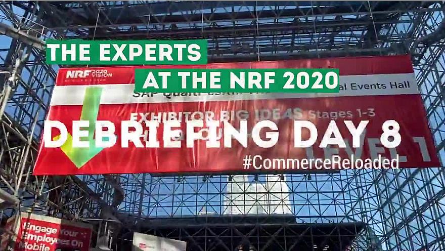 NRF 2020 NYC :  deuxième debreifing de Guillaume Rio et Nicolas Diacono au @NRFBigShow @BNPP_PF @nincoroby @Guillaume_Rio @Echangeur @Nike